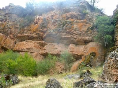 Valle de los Milagros-Cueva de la Hoz; senderismo en la comunidad de madrid foros senderismo rutas d